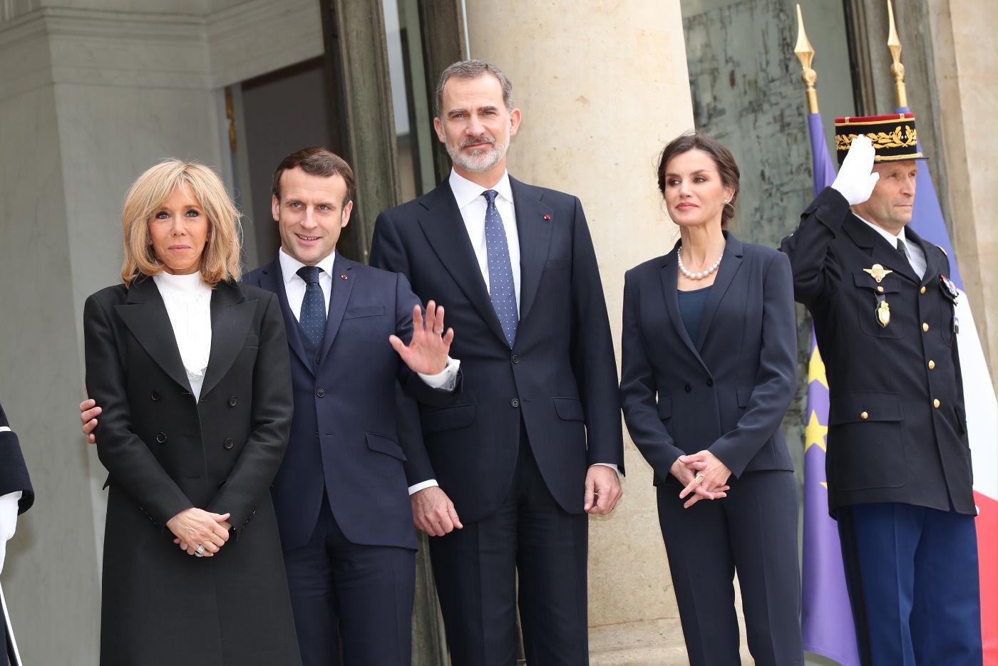 Homeactividades Y Agenda Almuerzo Ofrecido Por Sus Excelencias El Presidente De La Republica Francesa Sr Emmanuel Macron Y La Sra Brigitte Macron